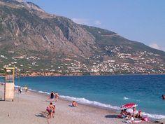Παραλία Καλαμάτας (Kalamata Beach) in Καλαμάτα, Μεσσηνία Four Square, Travel Destinations, Greece, Sunset, Beach, Water, Outdoor, Road Trip Destinations, Greece Country