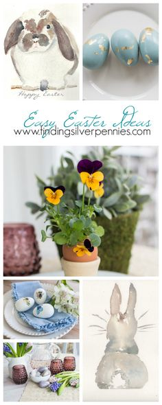 13 Easy Easter Ideas I Finding Silver Pennies