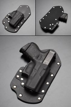 Glock 26 27 33 Velcro Backed Holster