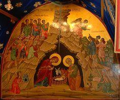 Рождество Христово. Икона из одноименной пещеры в Вифлееме. Фото: А.Поспелов / Православие.Ru