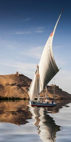 """::::♡م ♡ ✿⊱╮☼ ☾ PINTEREST.COM christiancross ☀❤•♥•* ✨♀✨ :::: mediterraneum: """"The Nile River, Egypt """""""