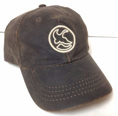 5964da9d399 leather look GANDER MOUNTAIN HAT Relaxed Fit Dad Cap Brown Adjustable Men  Women  DorfmanPacific  BaseballCap