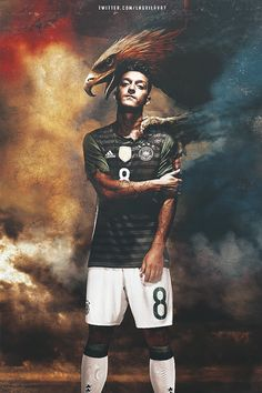 Mesut Özil.  This is a bit odd but the editing is next level!
