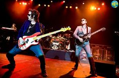 @glennhughes LIVE onstage w/ BLACK COUNTRY COMMUNION in Stockhom, SWEDEN ~ August 2011.