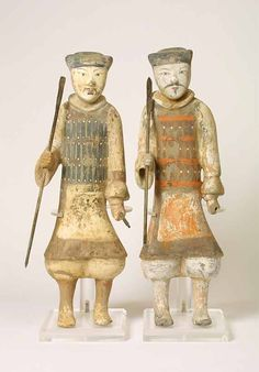 Han Dynasty Figures of Guardians