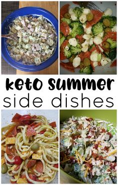Ketogenic low carb diet recipes to bring to a bbq … Keto diet summer side dishes. Ketogenic low carb diet recipes to bring to a bbq or party! Cold pasta salads, broccoli salads, zoodles, etc! Side Dishes For Bbq, Summer Side Dishes, Low Carb Side Dishes, Side Dish Recipes, Diabetic Side Dishes, Ketogenic Recipes, Low Carb Recipes, Diet Recipes, Healthy Recipes