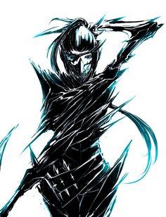Akali - League of Legends by ZephyraVirgox on deviantART