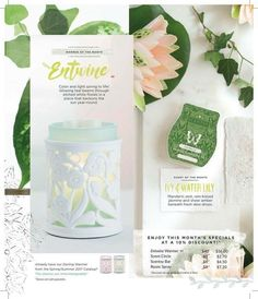 April warmer/scent of the month! Go to melissacarder.scentsy.us to order through April.