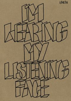 I do that so the people who I'm talking to a actually think I'm listening when I'm really just saying yes to please them!;)