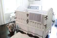 Project Nursery - Gender Neutral Nursery Glider Crib