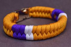 How to Add Color Sections to a Fishtail Paracord Survival Bracelet - Bor...