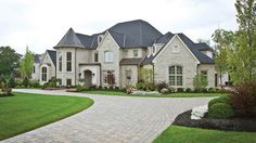 Amazing exterior of a custom house by Zicka Homes. #housetrends http://www.housetrends.com/specialist/Zicka-Homes