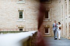 Courtyard terrace at the Boston Public Library, a stunning backdrop for celebrations and wedding day portraits.