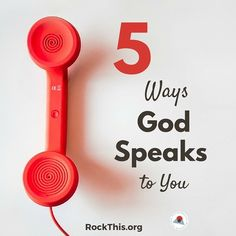 5 Ways to Hear God Speak (to you)