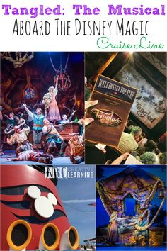 Tangled The Musical Aboard The Disney Magic. A fantastic show for the entire family! If you are aboard the Magic make sure to see this unforgettable show! - abccreativelearning.com
