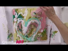 How to Marble with Acrylic Paint - Createful Art