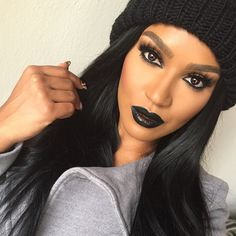 "SHAYLA op Instagram: "" @occmakeup Little Black Dress lip tar & ""Tarred"" lip liner #occmakeup"""