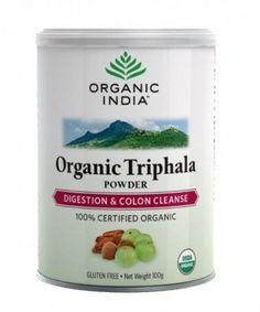 Organic India Triphala Powder, 100gm / Pack, Gluten Free, Free Shipping #OrganicIndia