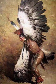Eagle Dancer Potawatomi Z. Liang Masterwork Canvas - Eagle Art - Ideas of Eagle Art - Eagle Dancer Potawatomi Z. Native American Paintings, Native American Pictures, Native American Beauty, American Indian Art, Native American Tribes, Native American History, American Indians, Native Americans, American Symbols