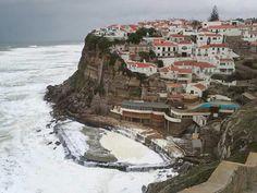 Azenhas do Mar beach - Sintra - Portugal