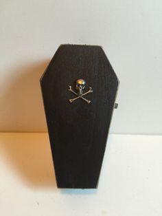 Halloween Coffin, Doorbells, Stud Earrings, Etsy Shop, Shopping, Jewelry, Jewlery, Jewerly, Stud Earring