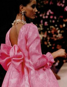 Yves Saint Laurent haute couture s/s 1990
