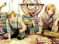 Fullmetal Alchemist Brotherhood. Ed and Al Elric