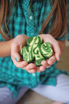 green velvet cheesecake shamrocks