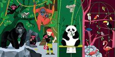 Lucie Brunelliere Carousel Books - Le zoo à déplier