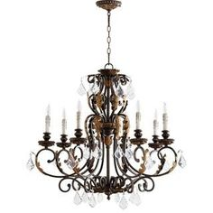 Silver Chandelier, Candle Chandelier, Chandelier Shades, Chandelier Lighting, Candelabra Bulbs, Silver Candelabra, Empire Chandelier, Transitional Chandeliers, Transitional Wall Sconces