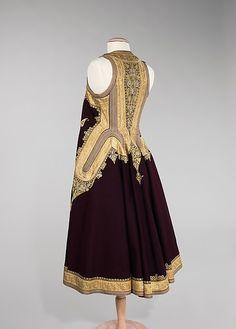 Albanian Coat.  Brooklyn Museum Costume Collection at The Metropolitan Museum of Art (via metmuseum.org)