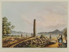 The ruins of the temple of Hera on Samos island. Samos, Ottoman Empire, Temple, Watercolor, Island, History, Drawings, Collage, Painting