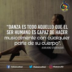 La danza es pasión. #fedoarcuRd #frases #quotes #instaquotes #teatro #danza #arquitectura #escultura #musica #poesia #literatura #cine #RD #Republicadominicana #arte #cultura