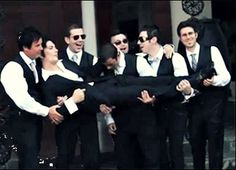 Synyster Gates on his wedding day This so cute I think I am going to die!!