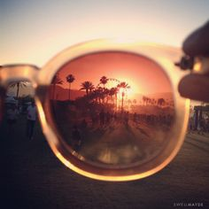 COACHELLA through @Aimée Gillespie Lemondée Gillespie | SwellMayde's sunglasses
