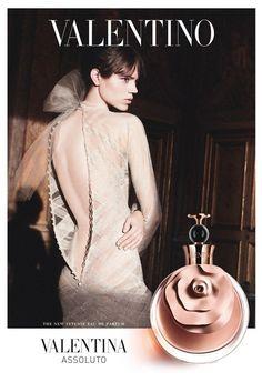 Valentino Fall fragrance ad campaign.