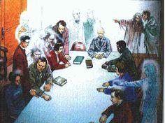 ESTUDOS  ESPIRITAS: O Livro dos Médiuns Reuniões espíritas.