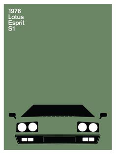 Launched in October 1975 and in production in 1976 the Esprit replaced the Europa line. Having a fiberglass body and steel chassis, power came from the Lotus 907 4-cylinder engine. Weighing in at less