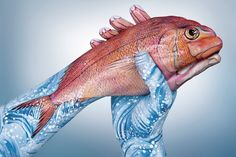 Amazing Hand and Body Paintings by Guido Daniele | Creatives Magnet