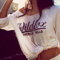 love wild fox tee's