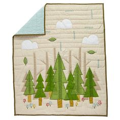 Nature Trail Baby Quilt | The Land of Nod