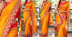 Exclusive Designer Saree   Buy Online sarees   Elegant Fashion Wear Price:5700 #elegantfashionwear #latest  #deaigner #saree
