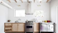 IN THE DETAILS :: WHITE KITCHEN + WOOD ISLAND - coco+kelley