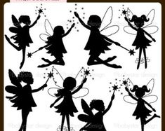 Popular items for fairy clipart on Etsy