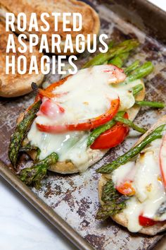 Asparagus Hoagies Roasted Asparagus Hoagies Click through for this awesome lunch or dinner recipe! Back To Her RootsRoasted Asparagus Hoagies Click through for this awesome lunch or dinner recipe! Back To Her Roots Best Vegetable Recipes, Vegetable Side Dishes, Mushroom Recipes, Sandwiches, Lacto Ovo Vegetarian Recipe, Vegetarian Entrees, Vegetarian Options, Veggie Sandwich, Cooking Recipes