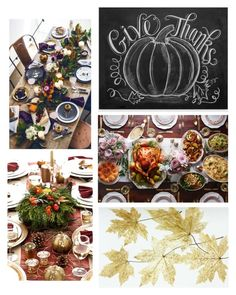 """Thanksgiving"" by maddie-farlow ❤ liked on Polyvore featuring interior, interiors, interior design, home, home decor, interior decorating and setthetable"