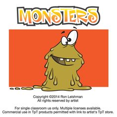 Monsters Cartoon Clipart