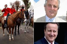 David Cameron thanks fox hunters for helping him win election in celebratory text message - Mirror Online