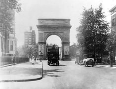 New York Architecture Images- Washington Square Arch