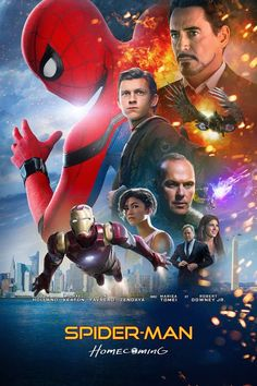 DOWN-LOAD!! Spider-Man: Homecoming Full Movie '2017' In 1080p HD/DVDRip/BluerayRip